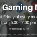 Teen Gaming Night banner