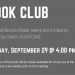 Teen Book Club banner