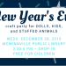 New Years eve Craft Party banner