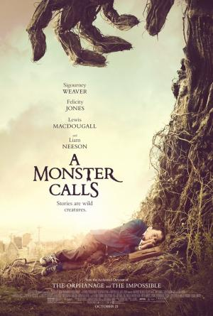 A Monster Calls DVD cover