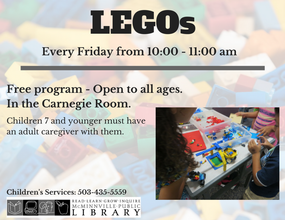 Friday LEGOs flyer