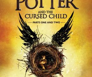 Harry Potter & the Cursed Child book cover